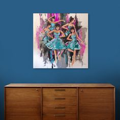 Discover «The Dancers», Exclusive Edition Canvas Print by yahya Rifandaru - From $65 - Curioos