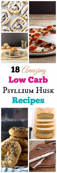 Low Carb Recipes To The Prism Weight Reduction Program My Pcos Kitchen - Low Carb Keto Psyllium Baked Goods Recipe Round Up - A Compilation Of Gluten-Free, Sugar-Free Baked Goods That Use Psyllium Husk Powder Via Mypcoskitchen Keto Friendly Desserts, Low Carb Desserts, Low Carb Recipes, Low Carb Lunch, Low Carb Breakfast, Breakfast Recipes, Fun Baking Recipes, Dessert Recipes, Healthy Baking