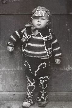 Pearly King Boy. The story of the Pearly Kings and Queens of London, very interesting