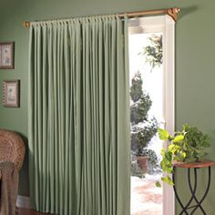 Insulated Curtains No more drafts! Insulated curtains reduce utility bills.