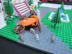 Cinderella at the Ball :: LEGO creations. Cinderella at the Ball: a before and after look Lego Creations, Fancy