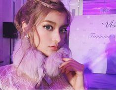 ♡ラベンダーメイクで…♡ の画像|ローラ Official Blog Powered by Ameba