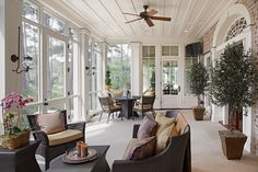 17 Tidal Creek Lane - Welcome to Spring Island, SC Decks And Porches, Screened Porches, Patio Decks, Greek Revival Home, Home Comforts, Architecture Details, Greek Revival Architecture, Historic Homes, Old Houses