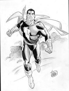 Captain Marvel by Lee Weeks by giantsizegeek, via Flickr