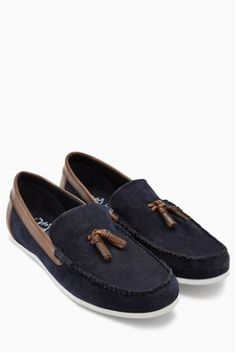 Navy Suede Tassel Loafer Code: 665-332 Price: £42