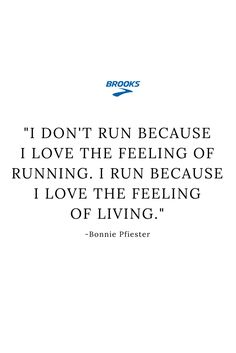 Find your motivation, find your run.