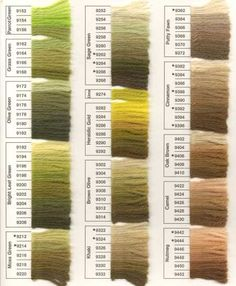 Anchor Tapestry Wool 1   цвета   Pinterest   Tapestry ...