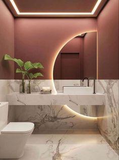Washroom Design, Toilet Design, Bathroom Design Luxury, Modern Bathroom Design, Simple Bedroom Design, Kids Bedroom Designs, Modern Bathrooms, Bathroom Design Inspiration, Bad Inspiration