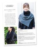Our Half & Half Cowl is first knit flat, then joined in the round for a softly draping cowl. The sophisticated split and rib gives it a ready-to-wear look.