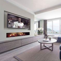 Extension Ideas, Flat Screen, Home Decor, Blood Plasma, Decoration Home, Room Decor, Flatscreen, Plate Display, Interior Decorating