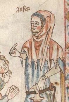 Armenbibel in 41 Darstellungen ungefähr zwischen 1360 und 1375 Cgm 20 Folio 17v