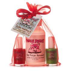 PIGGY PAINT Jingle Nail Rock Gift Set