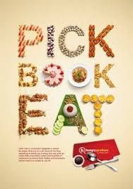 In this article, you will get hit by a serious dose of food typography artwork design for your inspiration. We hope these inspire you to think outside the box and come up with your own typographic designs. Typography Ads, Creative Typography, Typography Letters, Typography Design, Design Logo, Graphic Design, Web Design, Inspiration Typographie, Typography Inspiration