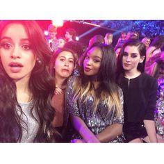 Camila - Normani - Lauren & fan