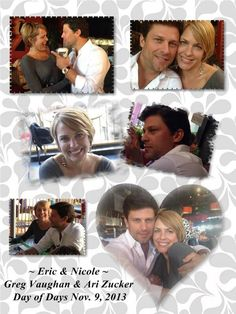 Days of our Lives! Love these too!! Eric & Nicole! Soo presh!!
