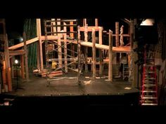"Building ""INTO THE WOODS"" Set Time Lapse"