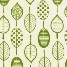 robert kauffman leaf print