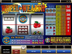 Wheel of Wealth #Slot #Game by #Microgaming - a perfect choice for #fun and #rest :) http://777spinslot.com/wheel-of-wealth-slot/