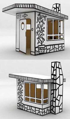 The Villa Julia Cardboard House/Fort/Cabin Kit