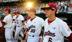 Let's all take a moment to appreciate how good looking South Carolina baseball players are.