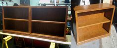 """Three of the Four bookcases I made for my brother. 3/4"""" Birch veneered plywood and Red Oak for the face frames, shelf fronts, and trim. Cherry stained and 3 coats poly. They came out so awesome."""