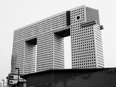 This is the Elephant Building in Bangkok. Is it ugly or an acquired taste?