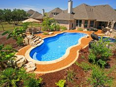 Oklahoma City Swimming Pool Design Gallery Aquascapes ...