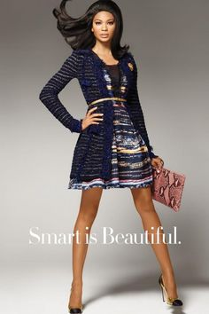 horizontal stripes are tempered by solid colored cardi + skinny gold belt - tres chic!