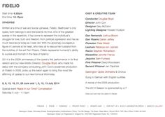 Festival Websites, Conductors, Clean Lines, Opera, It Cast, Layout, Writing, Opera House, Page Layout