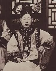 in the Qing Dynasty there was an expected hair cut. the Manchu hair style to show their obedience to their new rulers