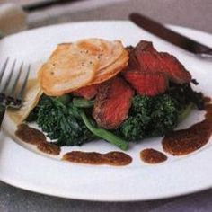 A reason to indulge with beef. Filet Mignon with Mustard Sauce recipe