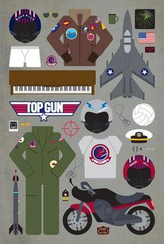 Top Gun piece by piece - Emma Buttler