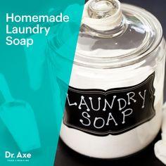 Homemade Laundry Soap - Dr.Axe