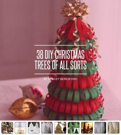 38 DIY #Christmas Trees of All Sorts ... - DIY
