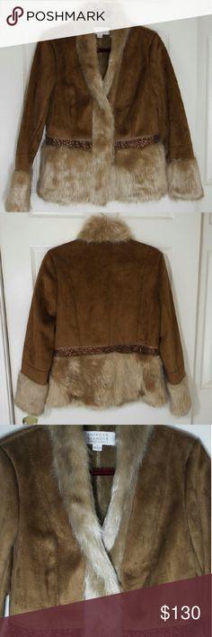 American glamour Badgley Mischka jacket. American glamour Badley Mishka, in perfect condition, unworn. Badgley Mischka Jackets & Coats