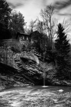 Wasserschloss am Eingang zum Laternsertal