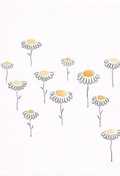 Painting simple flowers drawings 48+ Ideas #painting #flowers