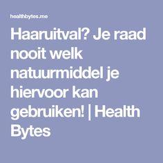 Haaruitval? Je raad nooit welk natuurmiddel je hiervoor kan gebruiken! | Health Bytes