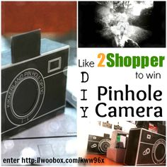 Like our Facebook Page to win a DIY Pinhole Camera / Solargraphy Kit! Winner will be announced by 4/17/2013. Click http://woobox.com/kww96x to to enter!! Cannot wait... CLICK HERE: ttp://ow.ly/jKsxJ to get one NOW! 2Shopper.com #giveaway #sweepstakes