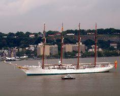 Tall Ship Juan Sebastián de Elcano - OpSail 2012