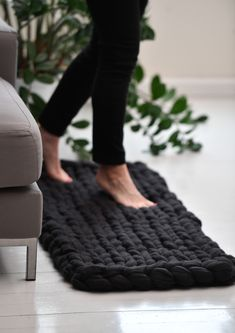 Tekstiiliteollisuus - teetee Big Wool Big Wool, Bath Mat, Free Pattern, Knitting Patterns, Shopping, Design, Home Decor, Knit Patterns, Decoration Home