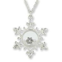 "Winter's Precious Jewels ""Long"" Snowflake Pendant - $11.99. https://www.tanga.com/deals/dd0b8e3bc512/winter-s-precious-jewels-long-snowflake-pendant"