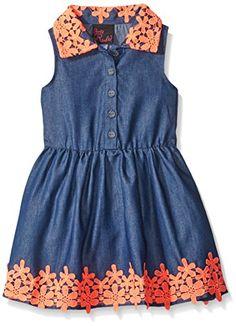 Girls Rule Little Girls Dress Crochet Lace Denim, Denim, ... http://www.amazon.com/dp/B019ZCLX4U/ref=cm_sw_r_pi_dp_U5ohxb1HYAW1Y