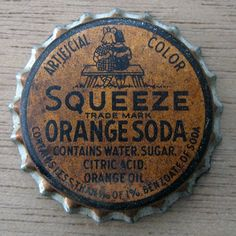 Squeeze Orange Soda by fragmented, via Flickr