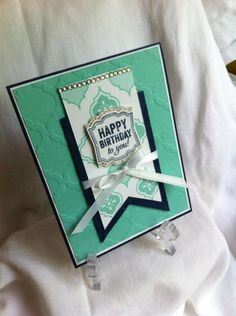 mosaic madness by lizvick - Cards and Paper Crafts at Splitcoaststampers Mosaic Madness, Easy Diy Gifts, Love Stamps, Scrapbook Cards, Scrapbooking, Card Making Inspiration, Happy Birthday Cards, Love Cards, Greeting Cards Handmade