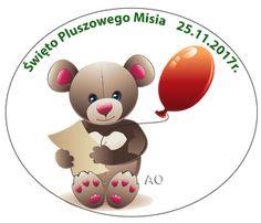 Dzień Pluszowego Misia - Pastelowe Kredki Yoshi, Character, Aga, Lettering