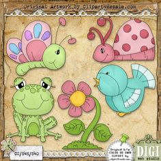 Spring Has Arrived 1 - Exclusive Clip Art