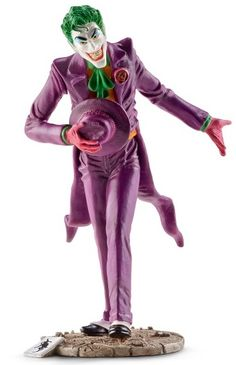 Schleich Joker Figure - In celebration of Batman's 75th anniversary, Schleich USA Inc. will be selling an exclusive Joker figure at San Diego Comic-Con 2014