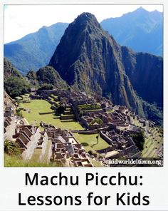 Machu Picchu Reading Activities Kids Lessons- Kid World Citizen Spanish Lessons For Kids, Spanish Basics, Learning Spanish, Spanish Class, Reading Activities, Activities For Kids, Multicultural Activities, Costa, Learning Sight Words