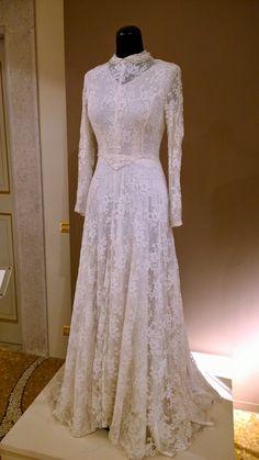 Wedding dress / Abito da sposa - 1953 || #fashion #weddingdress #abitodasposa #vintage #lace